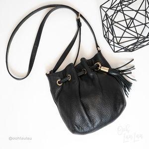 Michael Kors Bucket Crossbody Tassel Bag